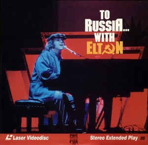 Elton John ‎– To Russia With Elton