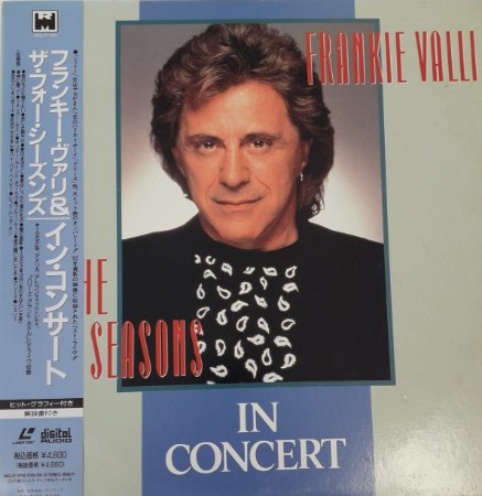 LD - Frankie Valli & The Four Seasons – In Concert