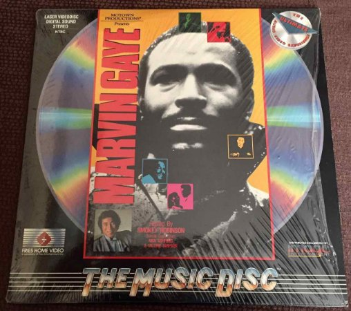 LD -  Marvin Gaye Hosted by Smokey Robinson - Motown Productions Presents: