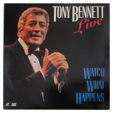 LD - Tony Bennett ‎– Tony Bennett Live: Watch What Happens