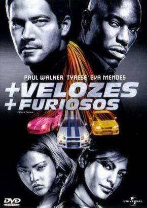 DVD - Velozes e Furiosos /  + Velozes + Furiosos    ( BOX - DVD DUPLO )