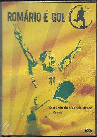 DVD - ROMÁRIO É GOL -  O Gênio Da Grande Área