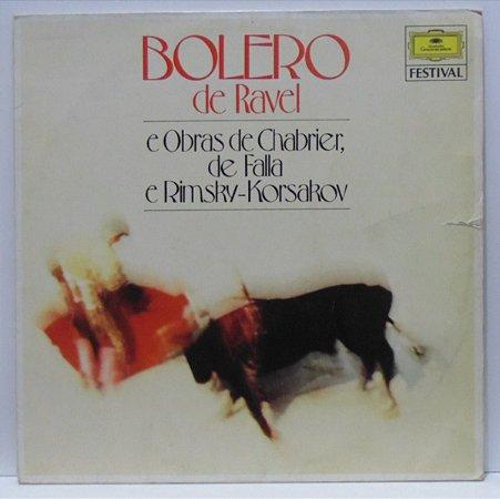 CD - Bolero de Ravel e Obras de Chabrier , de Falla e Rimsky - Korsarov