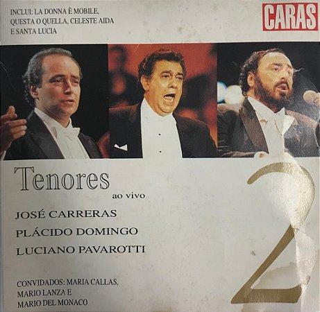 CD - Various - Tenores ao vivo - Volume 2