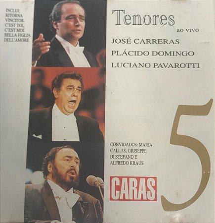 CD - Tenores ao vivo - Volume 5 (Coleção Caras)