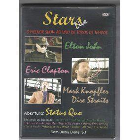 DVD - Stars Live - O Melhor Show Ao Vivo De Todos Os Tempos (Vários Artistas)