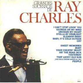 CD - Ray Charles - Grandes Sucessos de Ray Charles