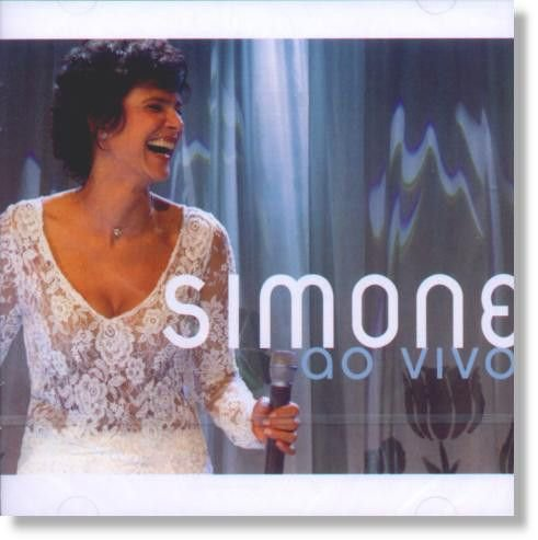 CD - SIMONE - AO VIVO (CD)