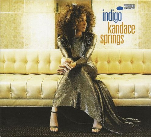 CD - Kandace Springs - Indigo  (Digipack)  - NOVO
