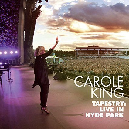 Carole King ‎– Tapestry: Live In Hyde Park CD + DVD