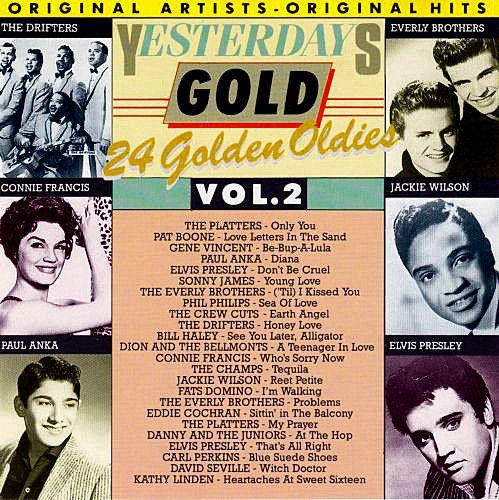 CD - Yesterdays Gold Vol.2 - 24 Golden Oldies - IMP (Vários Artistas)