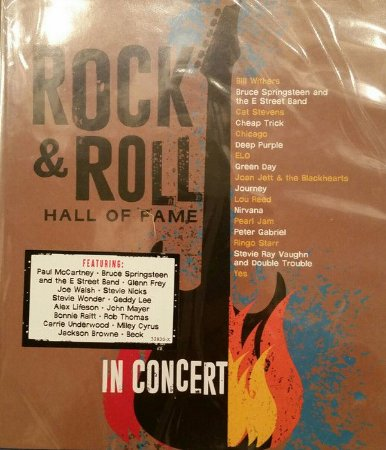 Blu-ray - Rock & Roll Hall Of Fame In Concert - DUPLO (Vários Artistas)