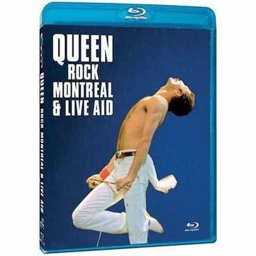 Blu-ray - Queen – Rock Montreal & Live Aid - lacrado - IMP
