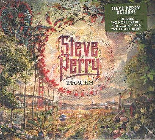 CD - Steve Perry – Traces  (Digipack)  - IMP - Novo