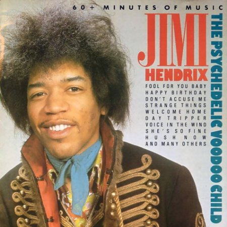 Jimi Hendrix ‎– The Psychedelic Voodoo Child