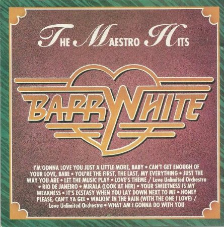 CD - Barry White – The Maestro Hits