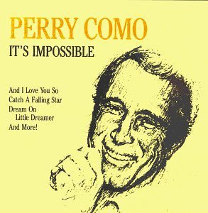 CD - Perry Como - It's Impossible - IMP