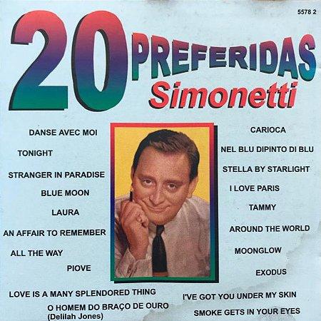 CD - Simonetti - 20 Preferidas