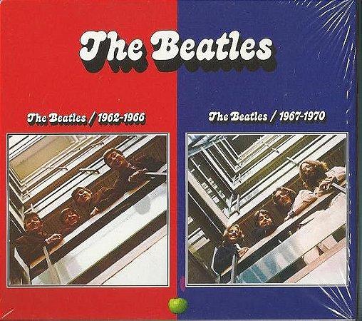 CD - The Beatles - The Beatles – 1962-1966 - 1967-1970 (Cd Quádruplo)