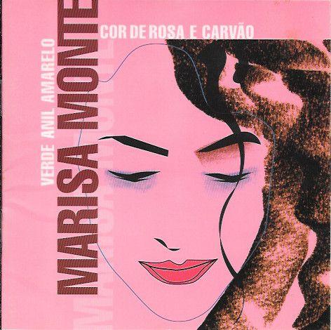 CD - Marisa Monte – Verde Anil Amarelo Cor De Rosa E Carvão