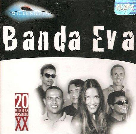 CD - Banda Eva – Millennium - 20 Músicas Do Século XX