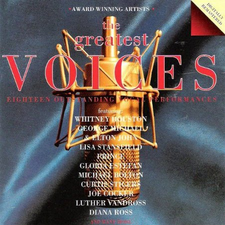 CD - Various – The Greatest Voices - IMP