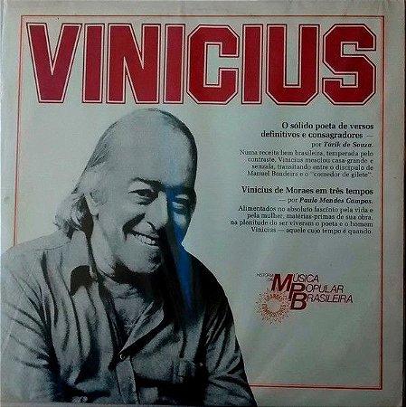 LP - Various – História Da Música Popular Brasileira - Vinicius de Moraes