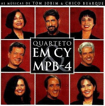 CD - Quarteto Em Cy & MPB4 – Bate Boca