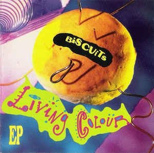 CD - LIVING COLOUR - BISCUITS EP