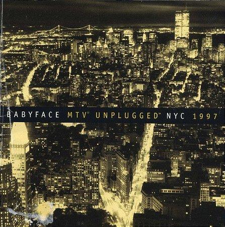 CD - Babyface – MTV Unplugged NYC 1997