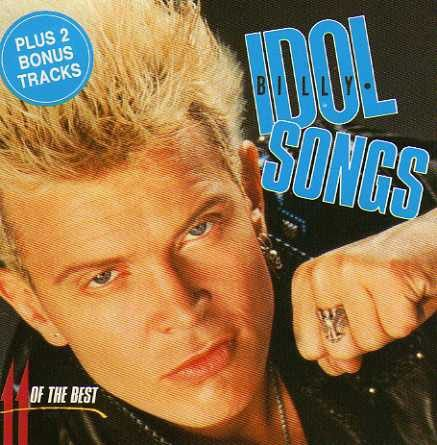 CD - Billy Idol ‎– Idol Songs - 11 Of The Best