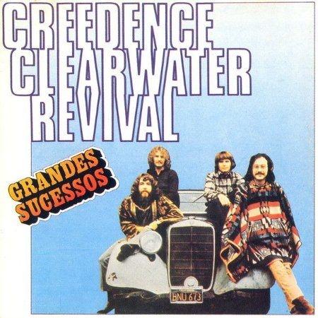 CD - Creedence Clearwater Revival – Grandes Sucessos