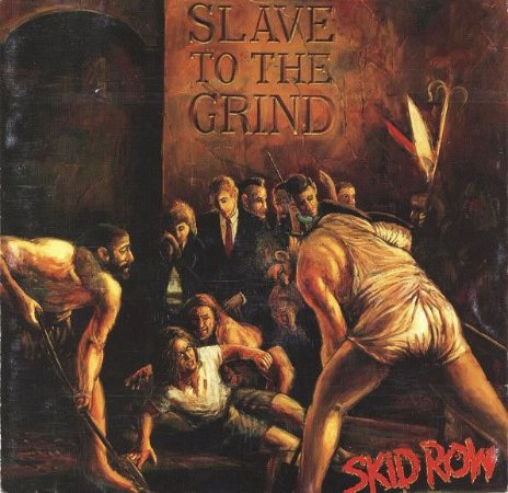 CD - Skid Row ‎– Slave To The Grind - IMP.  USA