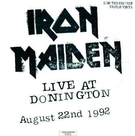 CD = Iron Maiden – Live At Donington - August 22nd 1992 ( Cd Duplo) IMP .HOLLAND