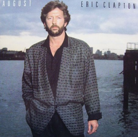 CD - Eric Clapton – August