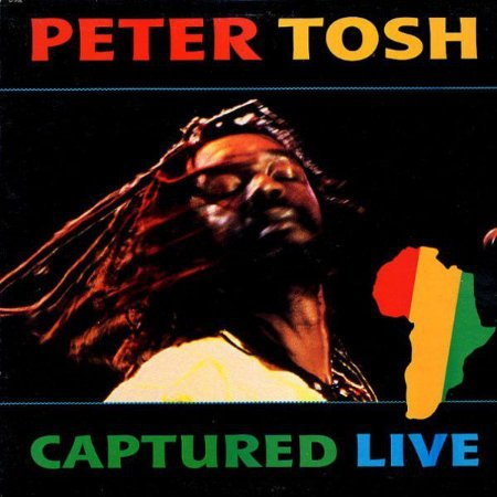 CD - Peter Tosh ‎– Captured Live - IMP