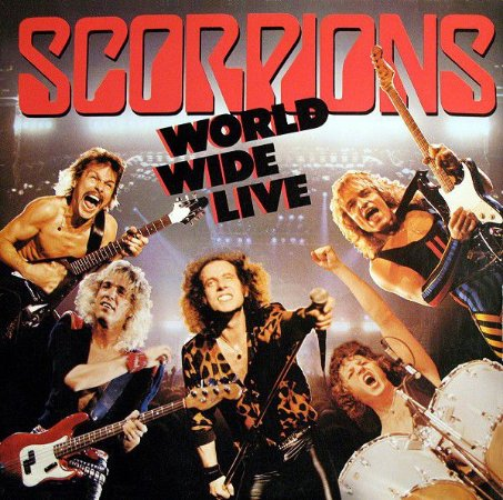 Scorpions ‎– World Wide Live