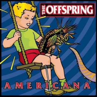 CD - The Offspring ‎– Americana