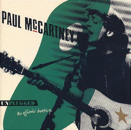 CD - Paul McCartney – Unplugged (The Official Bootleg) - IMP - JAPAN