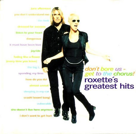 CD - Roxette ‎– Don't Bore Us - Get To The Chorus! (Roxette's Greatest Hits)