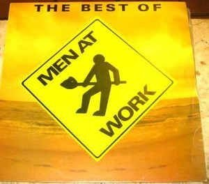 CD - Men At Work ‎– The Best Of Men At Work (Promoção Colecionadores Discos)