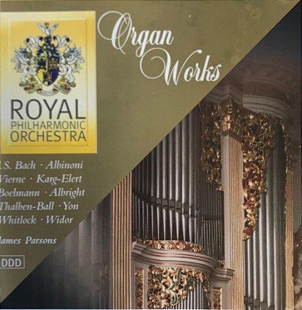 James Parsons, Organ - Organ Works
