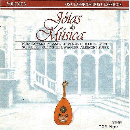 Various – Jóias da Música  - Volume 3