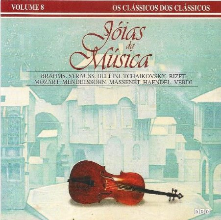 Various ‎–  Jóias da Música - Volume 8