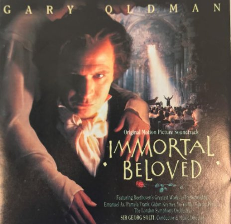 CD - Ludwig Van Beethoven / Sir Georg Solti, Emanuel Ax, Pamela Frank, Gidon Kremer, Yo-Yo Ma, Murray Perahia, The London Symphony Orchestra ‎– Ludwig Van B. - Immortal Beloved (Original Motion Picture Soundtrack)