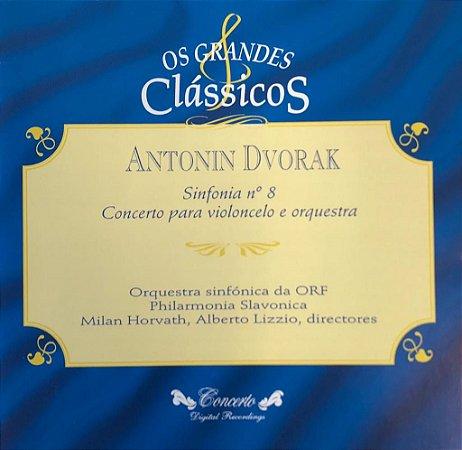 CD - Antonin Dvorak - Sinfonia N.8 (Coleção Os Grandes Clássicos)