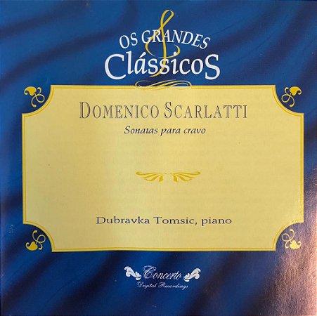 CD - Domenico Scarlatti - Sonatas Para Cravo - Os Grandes Clássicos