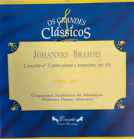 Johannes Brahms - Concerto no. 2 para piano e orquestra, op. 83 - Os grandes clássicos