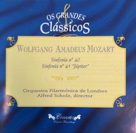 """CD - Wolfgang Amadeus Mozart - Sinfonía N.40 / Sinfonía N. 41 """"Júpiter"""" (Coleção Os Grandes Clássicos)"""