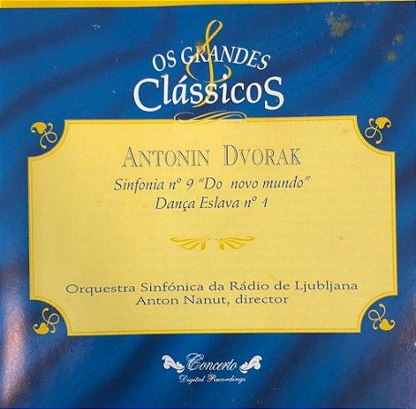 """CD - Antonin Dvorak - Sinfonia N.9 - """"Do Novo Mundo"""" Dança Eslava N.1 (Coleção Os Grandes Clássicos)"""